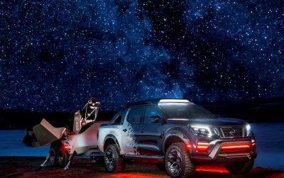 Nissan zaprezentował mobilne obserwatorium kosmiczne: koncepcyjny model Nissan Navara Dark Sky
